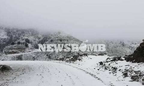 Κακοκαιρία «Λέανδρος»: Δείτε ποιες περιοχές θα «πνιγούν» στο χιόνι τις επόμενες ώρες
