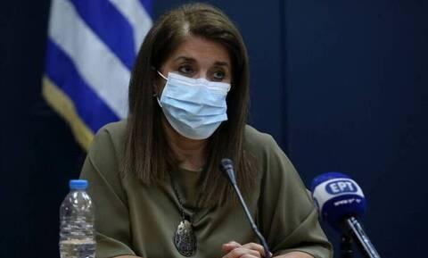 Κορονοϊός - Παπαευαγγέλου: Ίσως να μπορέσουμε να χαμογελάσουμε κάτω από την μάσκα μας