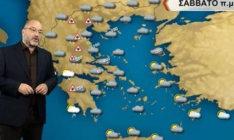 Καιρός: Προσοχή στις χιονοπτώσεις! Η προειδοποίηση Αρναούτογλου...