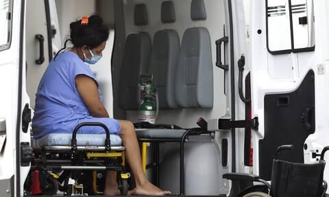 Βραζιλία –Κορονοϊός: Εν μέσω χάους ασθενείς μεταφέρονται από την πολιτεία Αμαζόνας σε άλλες περιοχές