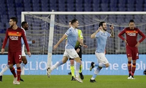 Ιταλία – Serie A: Αφεντικό της Ρώμης η Λάτσιο, «πάτησε» τη Ρόμα! - Δείτε τα γκολ