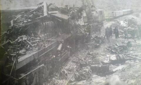 Το πολύνεκρο σιδηροδρομικό δυστύχημα στο Δοξαρά (video)