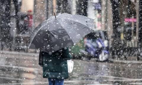 Κακοκαιρία «Λέανδρος»: Πώς θα εξελιχθεί o χιονιάς από Δευτέρα - Πρόγνωση Μαρουσάκη