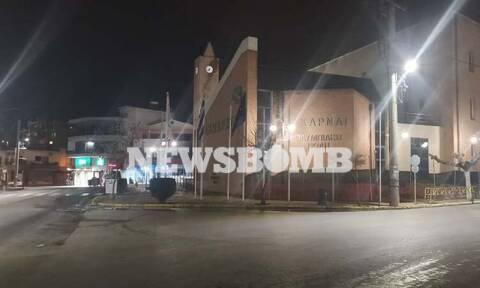 Ρεπορτάζ Newsbomb.gr: Μενίδι, μια πόλη «φάντασμα» - Οι πρώτες εικόνες του lockdown