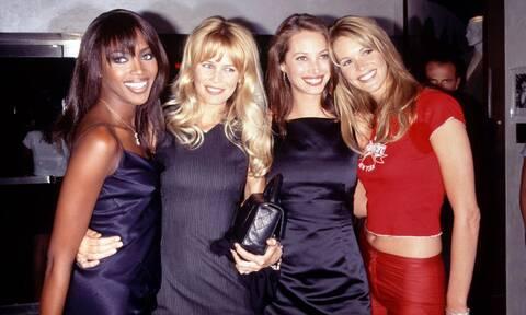 Θυμάστε τα θρυλικά supermodels της δεκαετίας του '90;