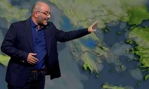 Καιρος: Θα χιονίσει τη Δευτέρα και στην Αττική. Ενημέρωση Αρναούτογλου...