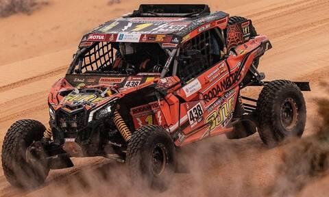 Γίνονται και αυτά στο Ράλι Ντακάρ: Oδηγός παράτησε το συνοδηγό του στη μέση της ερήμου και έφυγε!