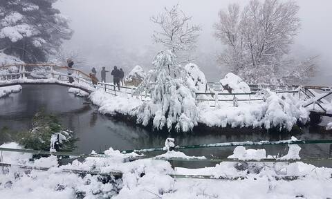 Κακοκαιρία: Δείτε πού θα χιονίσει τις επόμενες ώρες