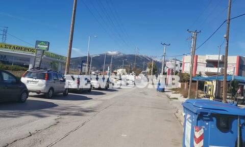 Δήμος Αχαρνών: Ποιο lockdown; Ουρές χιλιομέτρων για να δουν τα χιόνια!