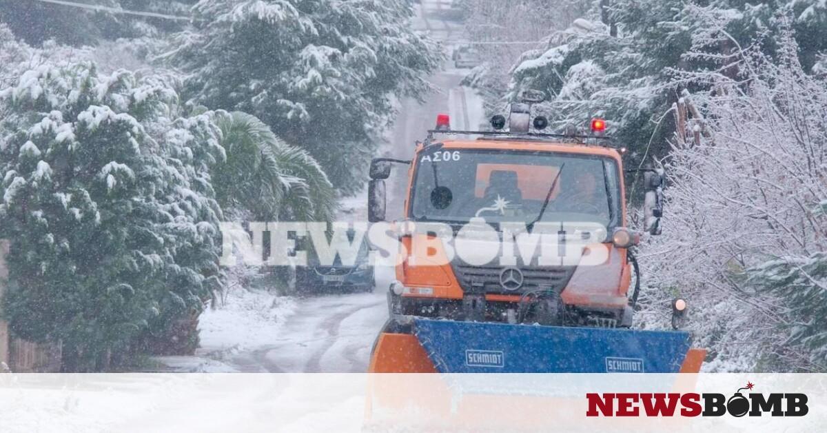 Κακοκαιρία «Λέανδρος» – Έκτακτο δελτίο ΕΜΥ: Νέα επιδείνωση, με χιόνια, παγετό και θυελλώδεις ανέμους – Newsbomb – Ειδησεις
