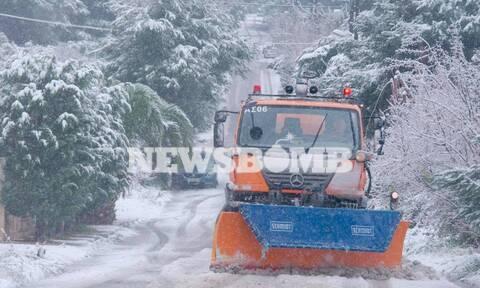 Κακοκαιρία «Λέανδρος» - Έκτακτο δελτίο ΕΜΥ: Νέα επιδείνωση, με χιόνια, παγετό και θυελλώδεις ανέμους