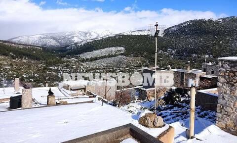 Ρεπορτάζ Newsbomb.gr: Μαγικές εικόνες από τη χιονισμένη Χίο (pics)