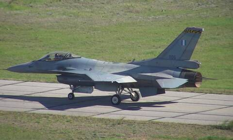 First upgraded F-16 completes test run successfully
