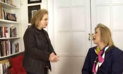 Επική στιγμή! Η Ματίνα Παγώνη συναντά τον Τάκη Ζαχαράτο ντυμένο ως... Ματίνα!