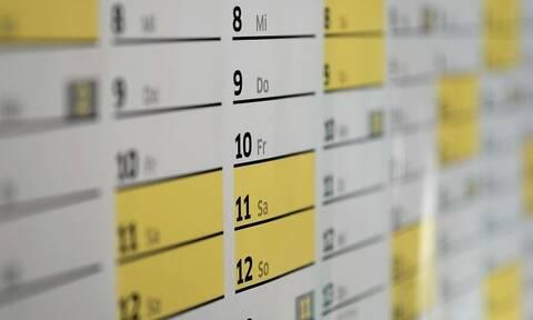 Αργίες 2021: Πότε πέφτει Καθαρά Δευτέρα, Πάσχα, Αγίου Πνεύματος - Δείτε όλα τα τριήμερα