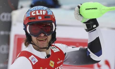 Αλπικό σκι: Ιστορική στιγμή! Ο πρώτος Έλληνας που κέρδισε βαθμούς σε Παγκόσμιο Κύπελλο (photos)