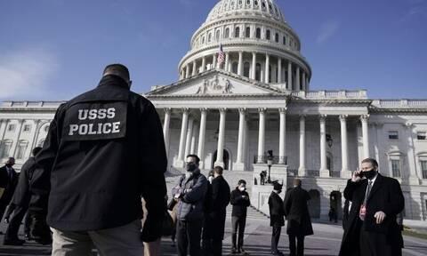 Καπιτώλιο: Έφυγαν… τρέχοντας από την πρόβα ορκωμοσίας του Μπάιντεν μετά τον συναγερμό των αρχών