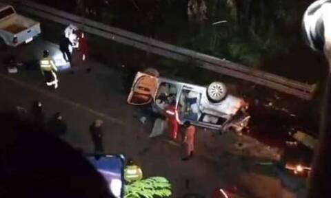 Τραγωδία στον Ισημερινό: Πολύνεκρο τροχαίο δυστύχημα - 12 νεκροί, οι μισοί εξ αυτών παιδιά