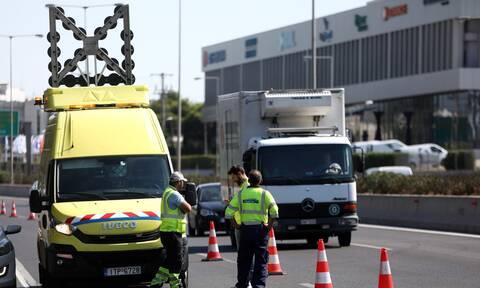 Ε. Ο. Αθηνών - Λαμίας: Άρση της απαγόρευσης κυκλοφορίας φορτηγών οχημάτων άνω των 3,5 τόνων