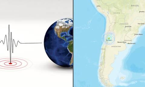 Ισχυρός σεισμός 6,4 Ρίχτερ στην Αργεντινή