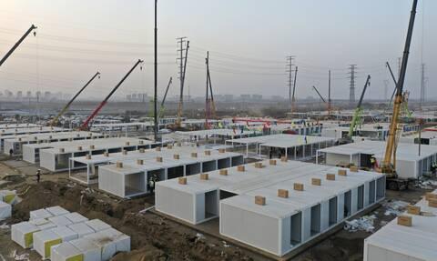 Κίνα - Κορονοϊός: Επιστρέφει ο εφιάλτης! Κατασκευάζεται τεράστιο κέντρο καραντίνας στο Πεκίνο