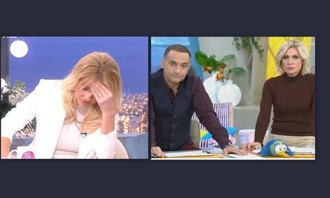 Η αμηχανία της Σκορδά: «Είδα κάποια πράγματα το πρωί στο Star και στενοχωρήθηκα»