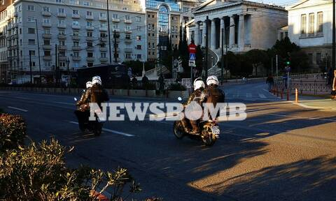 «Φρούριο» το κέντρο της Αθήνας για τη συγκέντρωση αλληλεγγύης υπέρ του Κουφοντίνα
