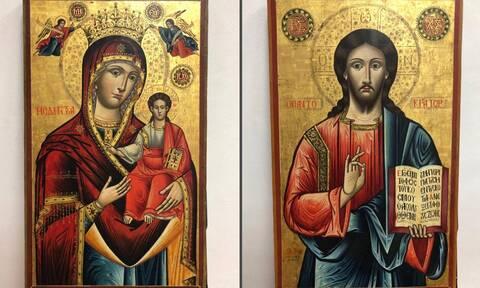 Επιστρέφουν στην Ελλάδα δύο εικόνες που είχαν κλαπεί από εκκλησία της Καρδίτσας