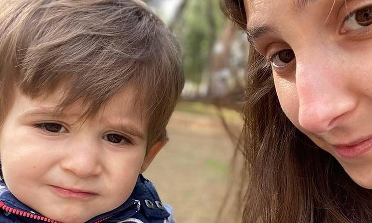 Φωτεινή Αθερίδου: Υπέροχη η νέα φώτο με τον γιο της