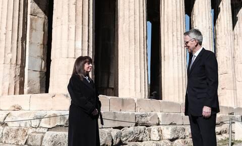 Σακελλαροπούλου: Οι σχέσεις φιλίας και συνεργασίας Ελλάδας - ΗΠΑ θα καταστούν ακόμη πιο ισχυρές