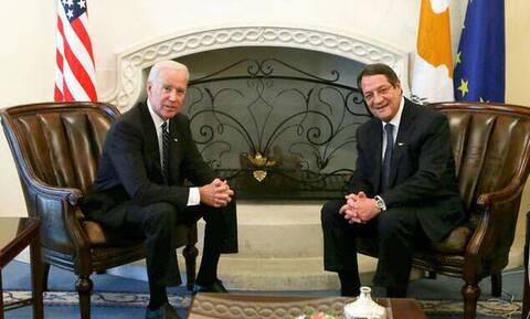 Συγχαρητήρια Αναστασιάδη σε Μπάιντεν και Καμάλα: «Είμαστε έτοιμοι να συνεργαστούμε στενά»