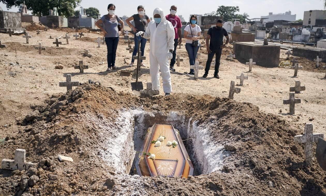 Κορονοϊός στη Βραζιλία: 64.385 κρούσματα και 1.340 νεκροί σε 24 ώρες