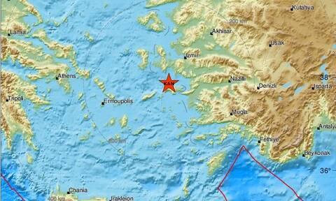 Σεισμός βόρεια της Σάμου - Αισθητός στο νησί (pic)