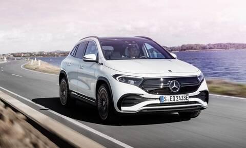H νέα EQA είναι η πιο μικρή -και προσιτή- ηλεκτρική Mercedes