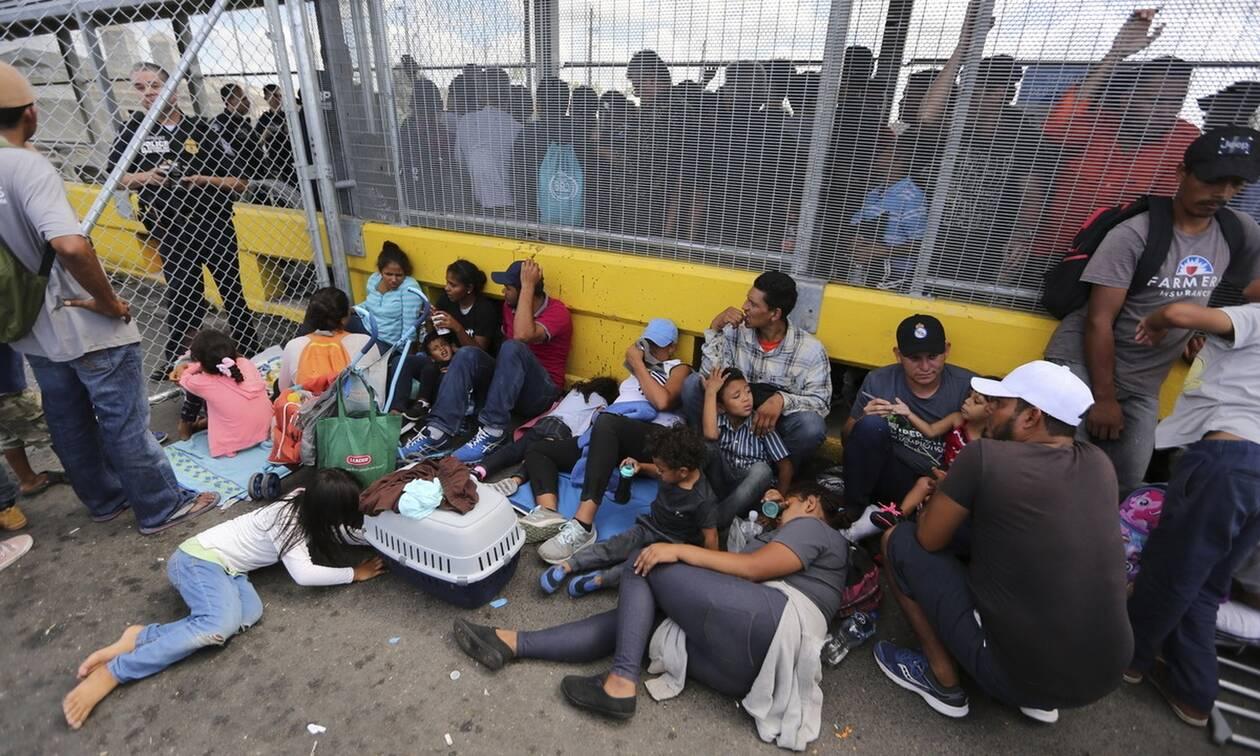 ΗΠΑ: Αναστολή στις απελάσεις μεταναστών για 100 ημέρες