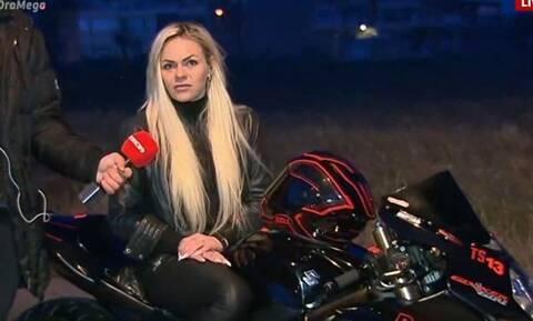 Η Θεσσαλονικιά που συμμετέχει σε αγώνες dragster (video)