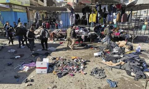 Ιράκ: H σοκαριστική στιγμή της επίθεσης αυτοκτονίας στη Βαγδάτη με 20 νεκρούς και 40 τραυματίες