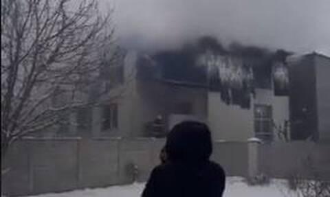 Ουκρανία: Τουλάχιστον 15 νεκροί από φωτιά σε γηροκομείο