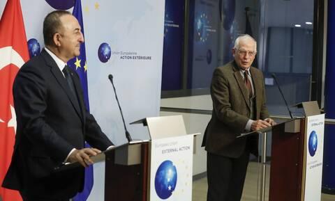 Συνάντηση Μπορέλ - Τσαβούσογλου: Οι σχέσεις ΕΕ-Τουρκίας και Ανατολική Μεσόγειος στις συζητήσεις