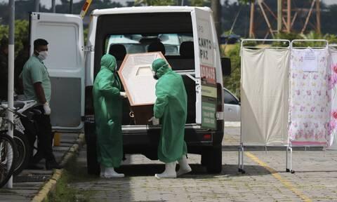 «Σαρώνει» τη Βραζιλία ο κορονοϊός: 59.119 κρούσματα και 1.316 νεκροί σε 24 ώρες