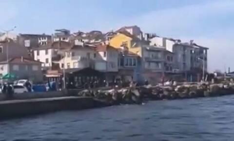 Τουρκία: Μπάντα δήμου έπαιξε τον ελληνικό εθνικό ύμνο στον αγιασμό των υδάτων