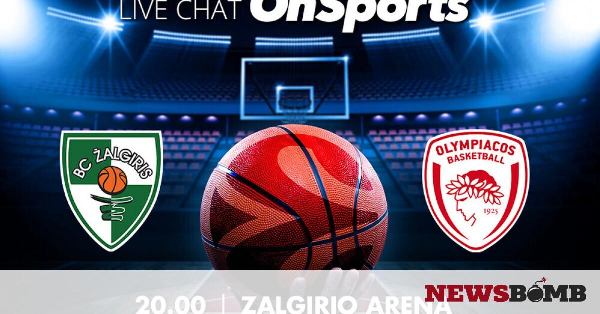 facebookZalgiris Olympiakos live