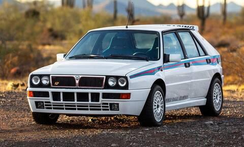 Πόσο λέτε πως πουλήθηκε αυτή η όμορφη, συλλεκτική Lancia Delta Integrale;