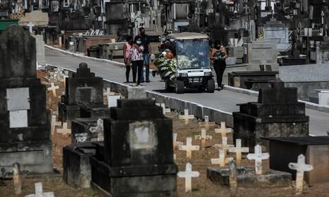 Κορονοϊός - Βραζιλία: Δεν έχει τέλος η τραγωδία- Ένας άνθρωπος πεθαίνει κάθε 6 λεπτά στο Σαν Πάουλου
