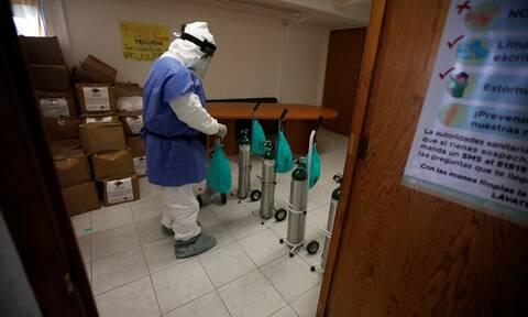 Κορονοϊός - Μεξικό: 1.440 θάνατοι και πάνω από 21.000 κρούσματα σε 24 ώρες