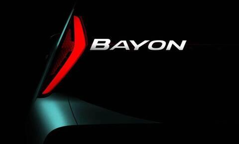 Το νέο μικρό SUV της Hyundai, το Bayon, έρχεται την άνοιξη