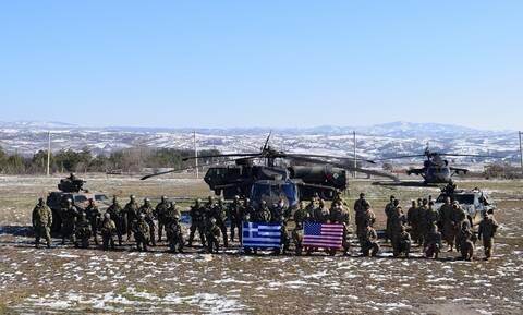 Στρατός Ξηράς: Με το δάχτυλο στη σκανδάλη – Εντυπωσιακές εικόνες στην άσκηση «ΠΗΓΑΣΟΣ 21» με τις ΗΠΑ