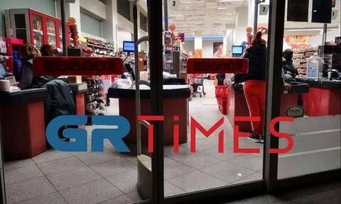 Αναστάτωση στη Θεσσαλονίκη: Ληστεία με καραμπίνα σε σούπερ μάρκετ