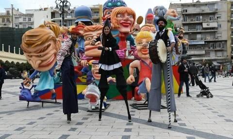 Πατρινό καρναβάλι εν μέσω κορονοϊού - Η σεμνή τελετή και η τήρηση των αποστάσεων