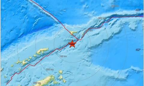 Ισχυρή σεισμική δόνηση 7 Ρίχτερ ανοιχτά της Ανταρκτικής – Προειδοποίηση για τσουνάμι
